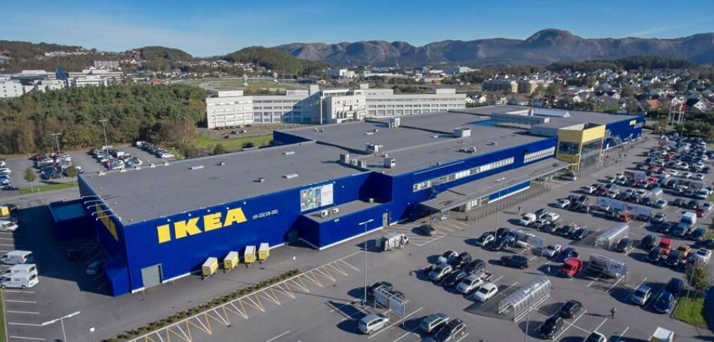 Ikea skroter planene for fire nye varehus i Norge