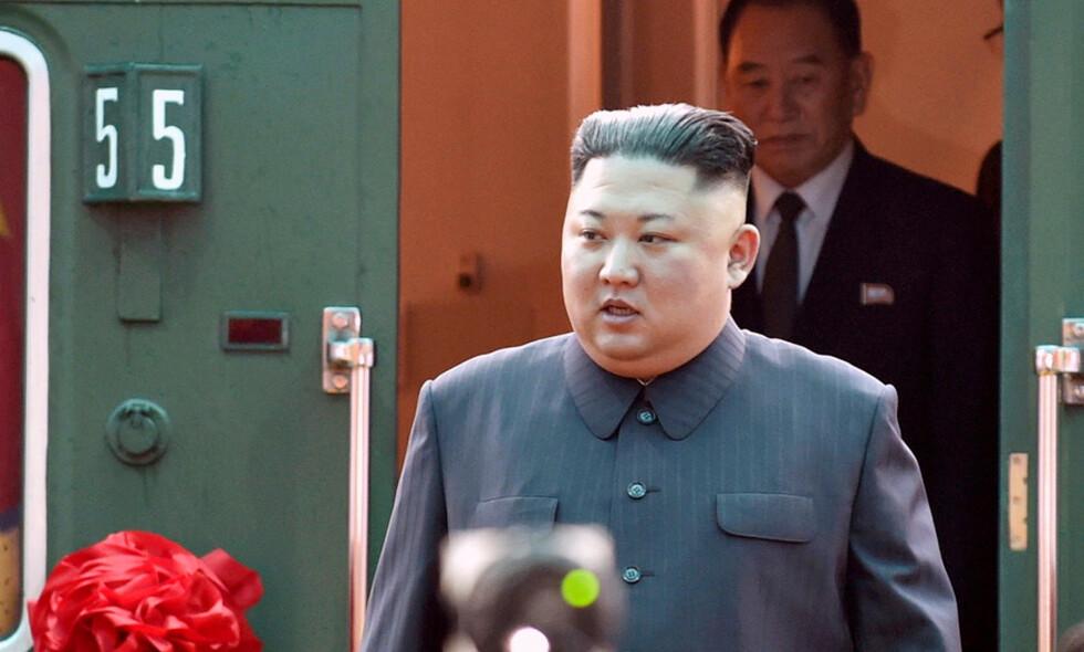 KIM I VIETNAM: Den nordkoreanske lederen Kim Jong-un kom til Vietnam tirsdag. Han møter Donald Trump onsdag og torsdag. Foto: REUTERS / NTB Scanpix