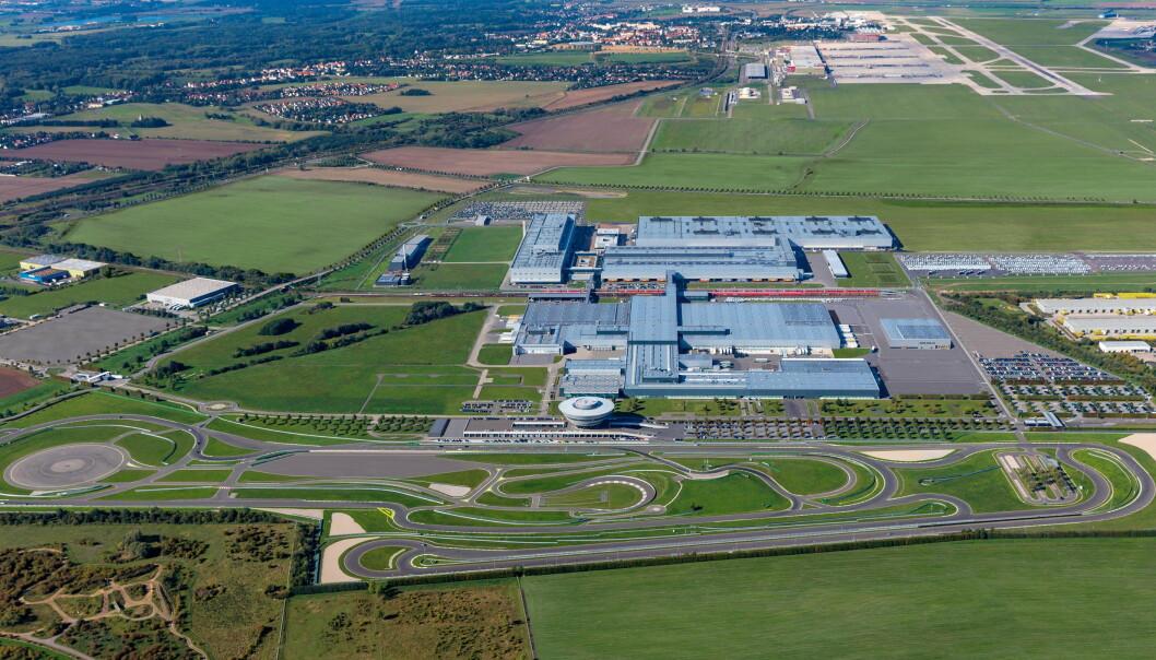 <strong>LEIPZIG:</strong> Elektriske Macan skal bygges i Leipzig. Foto: Porsche