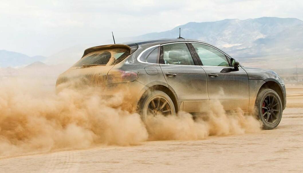 <strong>ELEKTRISK:</strong> Porsche Macan kommer som elbil i 2022. Foto: Porsche
