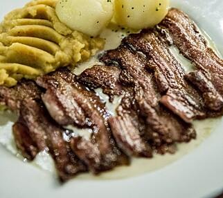 KLASSISK: Anmelderne mente Schrøder serverte Oslos dårligste mat.