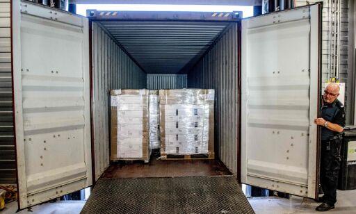 image: Stor levering av vodka til Nord-Korea stoppet i nederlandsk toll