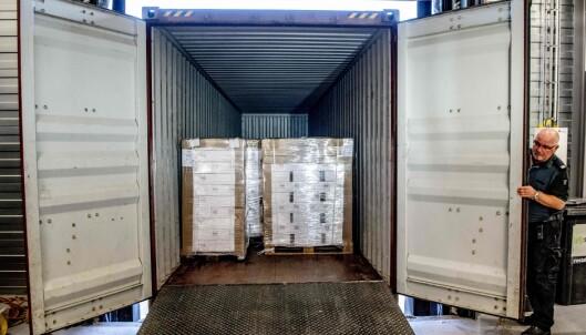 Stor levering av vodka til Nord-Korea stoppet i nederlandsk toll