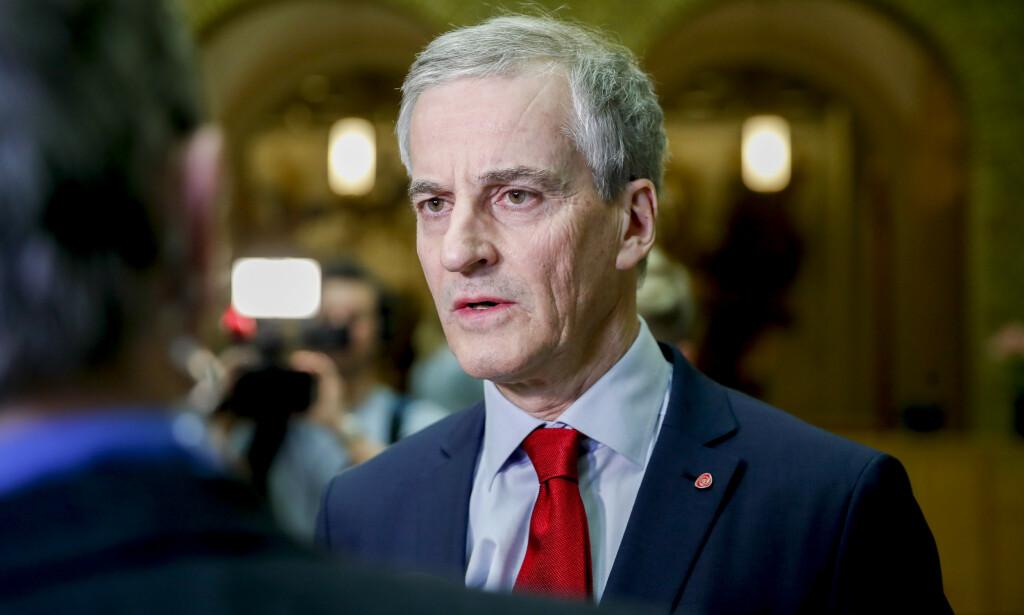 LEDER: Fire av ti Ap-velgere mener fem år med Jonas Gahr Støre som leder i Arbeiderpartiet er nok. Foto: Vidar Ruud / NTB scanpix