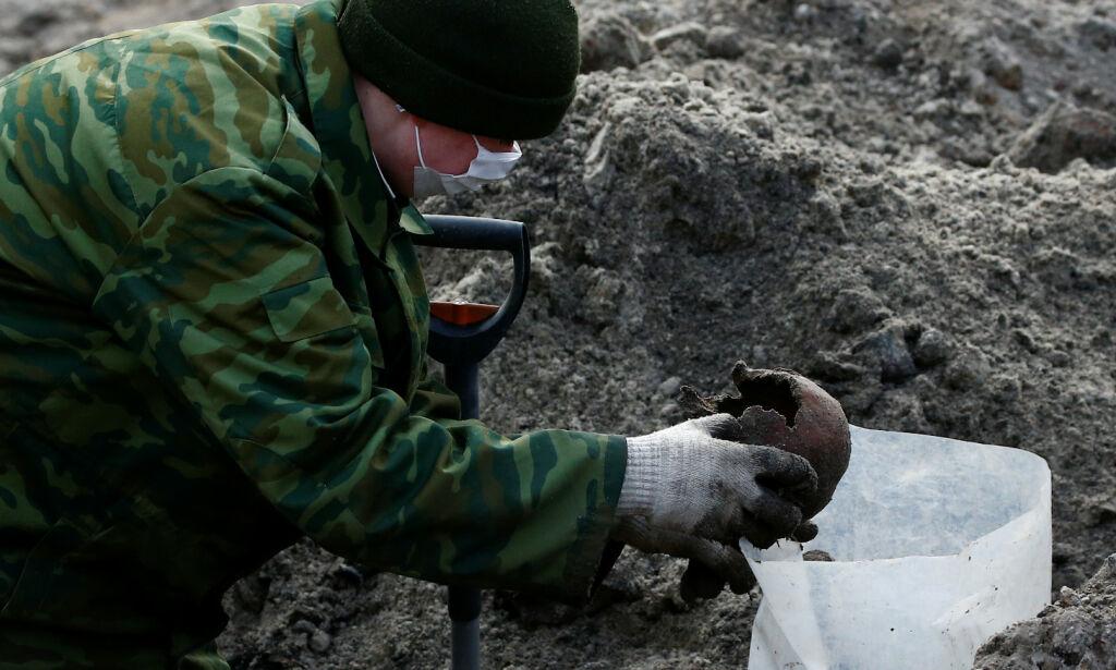 image: Massegrav fra nazitiden oppdaget i Hviterussland