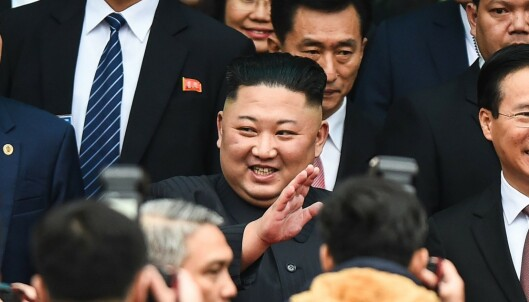 Kim tok grep etter pinlig hotelltabbe