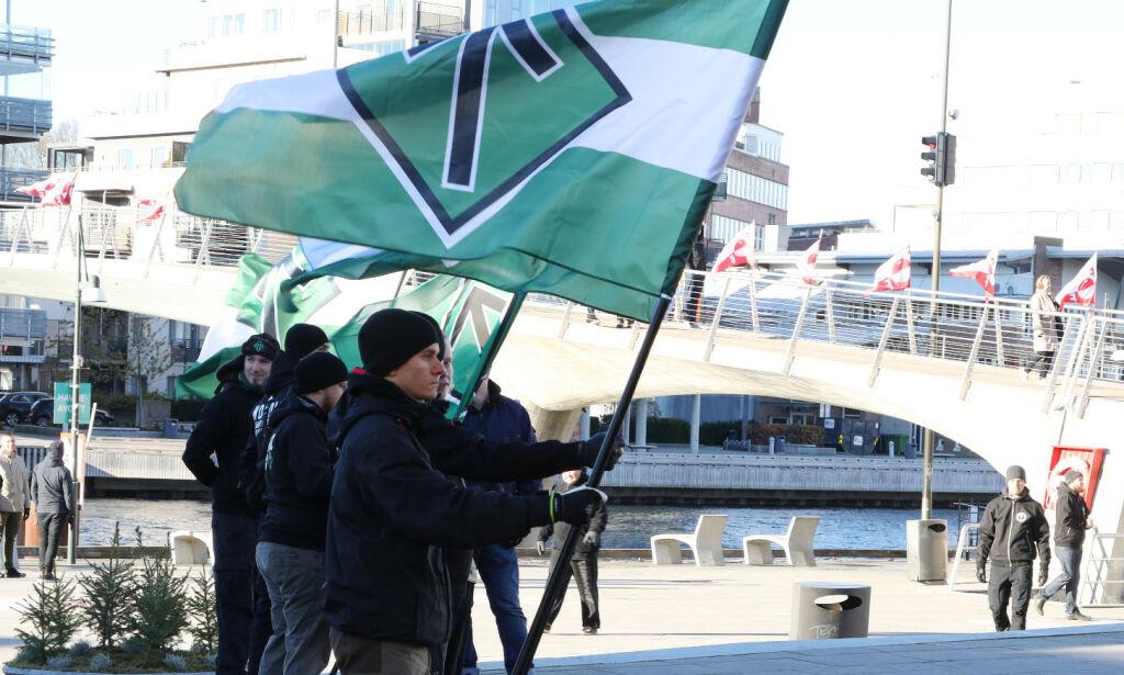image: SV vil presse for å forby nynazistiske grupperinger