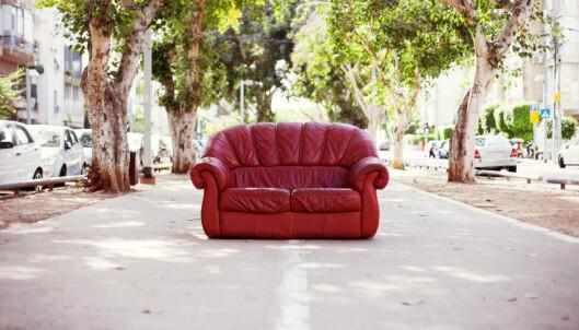 Vil ikke lenger hente de brukte møblene dine