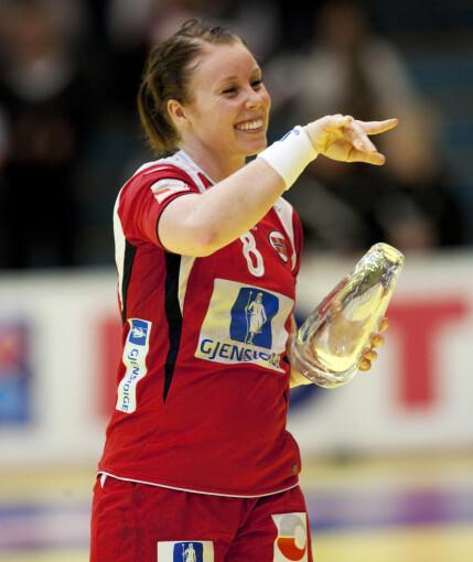 MERITTERT: Som håndballspiller har Karoline Dyhre Breivang blant annet ett VM-gull, to OL-gull og fem EM-gull å se tilbake på. Foto: Gorm Kallestad / NTB Scanpix
