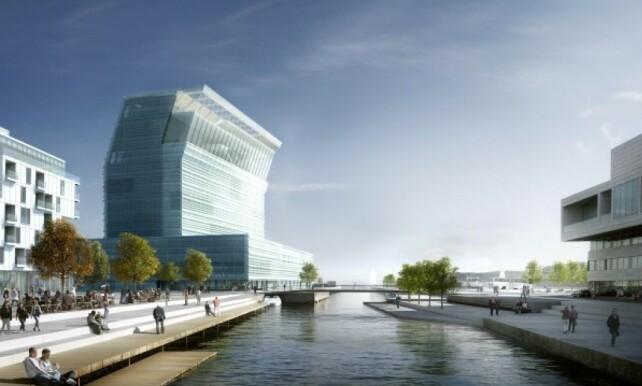 LYSTÅRN: Da juryen enstemmig gikk inn for å bygge det nye Munchmuseet, ble det beskrevet som et lystårn. Foto: Estudio Hererros