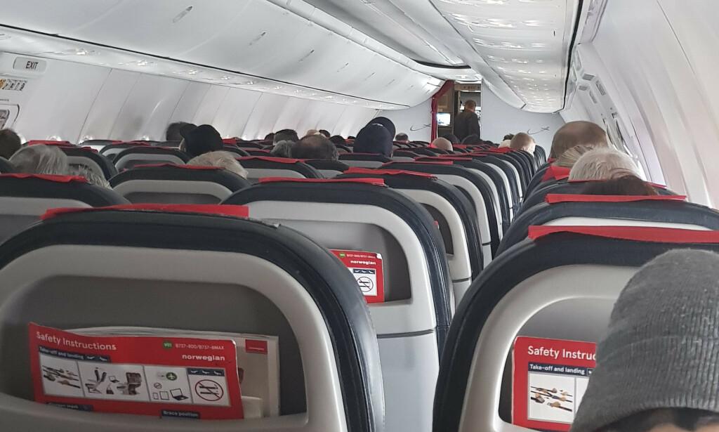 HEVDET Å VÆRE PASSASJER: Personen som framsatte trusselen mot Norwegian-flyet, hevdet å være passasjer på avgangen. Foto: Kevin Gonaseelan / NTB Scanpix