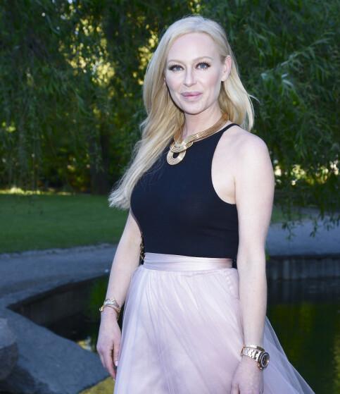 RYSTET: Den svenske tv-profilen Isabel Adrian (41), her avbildet i fjor sommer. Foto: NTB Scanpix