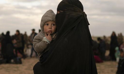 image: IS-kvinnene og barna som ingen vil ha