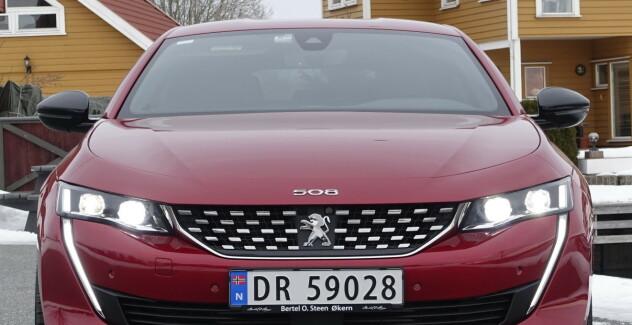 Ny Peugeot 508: Kul, stillegående luksus