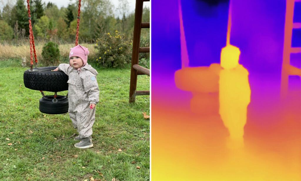 HELT AUTOMATISK: Appen DPTH bruker kunstig intelligens til å kalkulere dybden i bildene dine. Dermed kan du velge fokuspunkt og endre uskarphet på det som ikke er i fokus. Foto: Pål Joakim Pollen