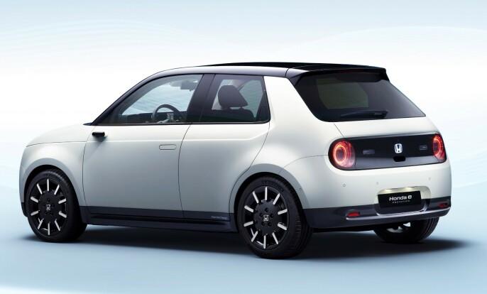 FOR BYENE: Urban e er definitivt laget for kjøring i byer og kortere distanser. Foto: Honda