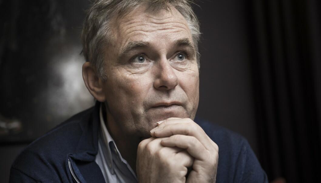 <strong>VETERAN:</strong> Programleder Dag Erik Pedersen har fulgt over 100 pensjonerte idrettshelter gjennom «Mesternes mester». Nå deler han de største opp- og nedturene. Foto: Lars Eivind Bones / Dagbladet