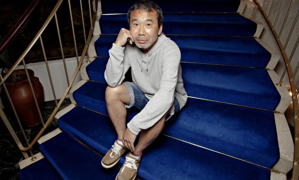 BRISTOL: Den japanske forfatteren Haruki Murakami fra hans møte med Dagbladet på Bristol Bar. Foto: Fredrik Wandrup