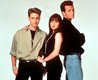 <strong>90210:</strong> Brandon, Brenda og Dylan i Beverly Hills 90210. Foto: SCAN-FOTO/CAMERAPRESS/NTB scanpix