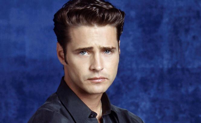 <strong>BRANDON:</strong> Jason Priestley spilte karakteren Brandon Walsh, som var en av de mest populære gutta i serien. Foto: NTB Scanpix