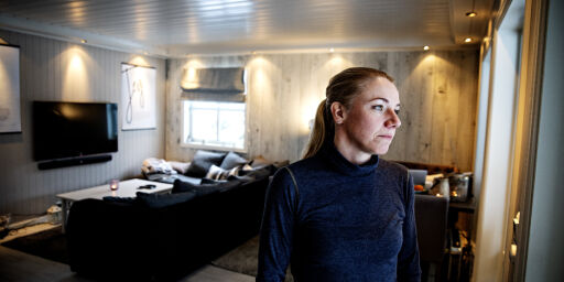 image: Elin Marie (40) frykter hun må selge hjemmet