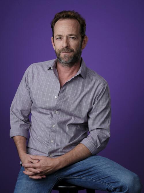 <strong>DYLAN:</strong> Luke Perry spilte rollen som Dylan McKary i serien. Han er fremdeles aktiv som skuespiller. Foto: NTB Scanpix