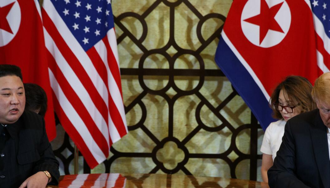 Nord-Korea motsier Trump