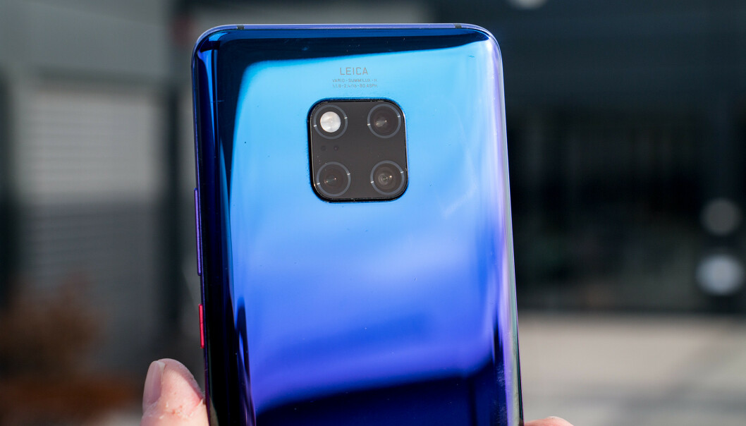 <strong>TRE BAK:</strong> Også Huawei Mate 20 Pro har tre kameraer på baksiden med ulike brennvidder. Pål Joakim Pollen