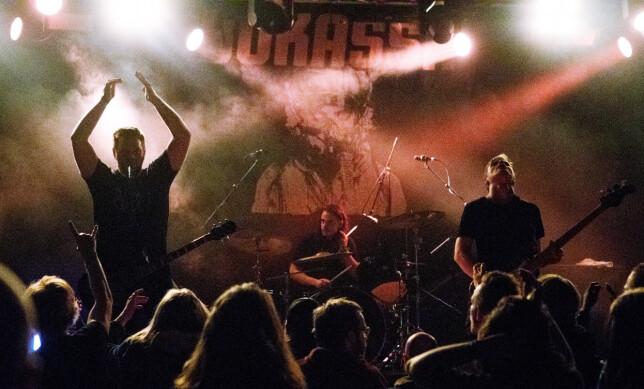 BOKASSA: Som en liten oppvarming til support-jobber for Metallica avsluttet Bokassa Bylarm-kvelden på Vuikan Arena natt til lørdag.