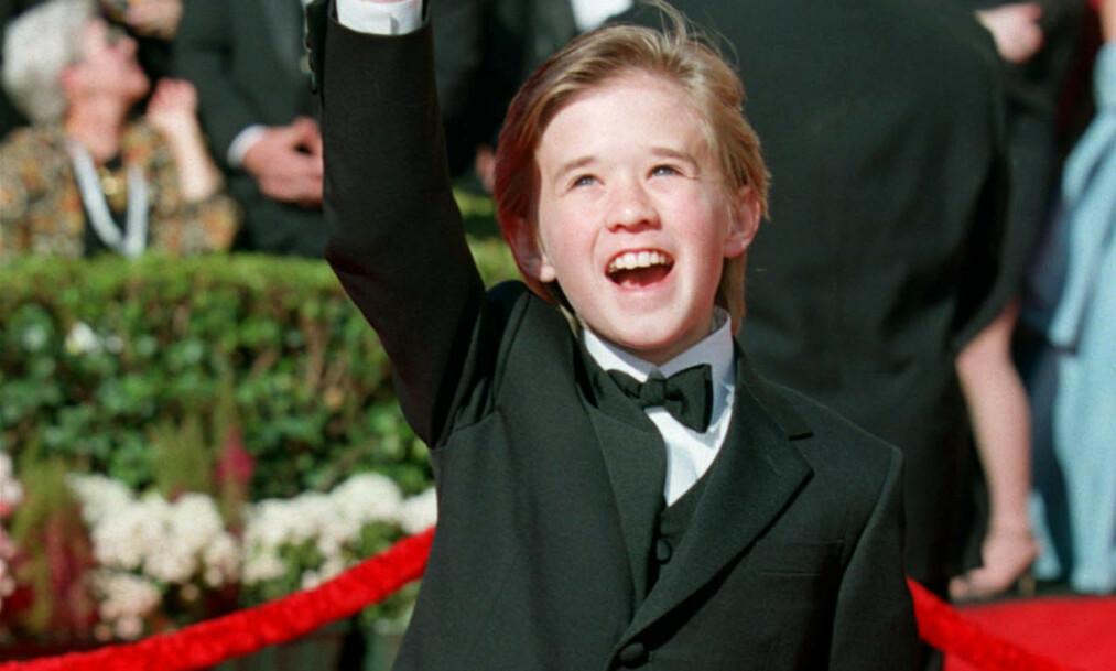 <strong>STJERNE:</strong> Haley Joel Osment ble i 2000 nominert til en Oscar for sin innsats i suksessfilmen «Den sjette sansen». Foto: NTB Scanpix