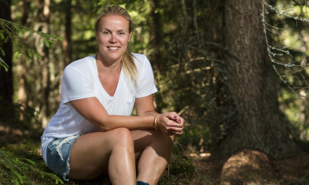 TILBAKE PÅ TV: Johanna Grønneberg (39) er tilbake i rampelyset som en av deltakerne i årets «Farmen kjendis». Foto: Alex Iversen / TV 2