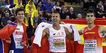 image: Jakob Ingebrigtsen med EM-sølv: - Fornøyd