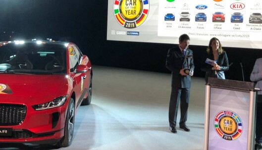 Jaguar I-Pace ble Årets Bil i Europa