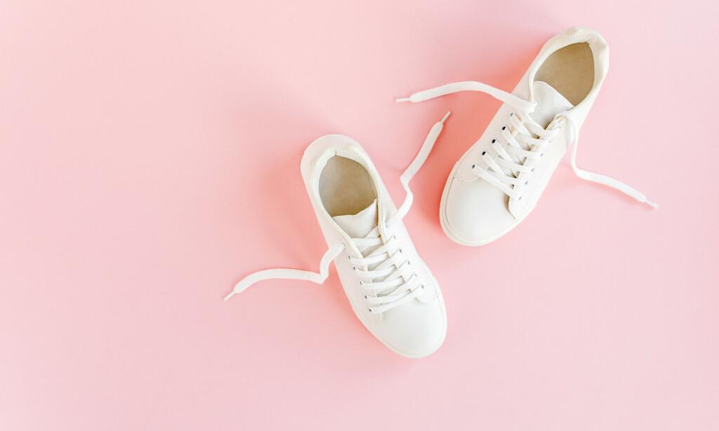 230c52b9 SKO SOM KNIRKER: Har du noen sko som knirker veldig når du går? Da