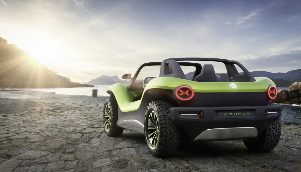 <strong>VEKKER FØLELSER:</strong> Med en elektrisk Buggy, inspirert fra 60-tallet, skal vise at det er mulig med elektriske biler som vekker følelser. Foto: VW