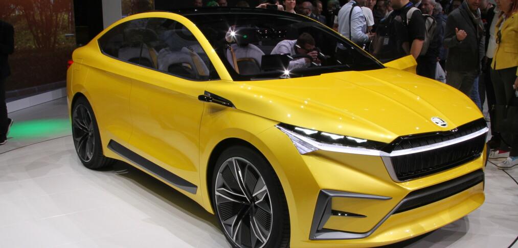 Skoda viser sin elektriske SUV i Genève