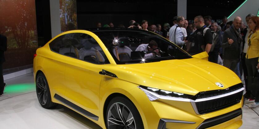 Her er Skodas elektriske SUV