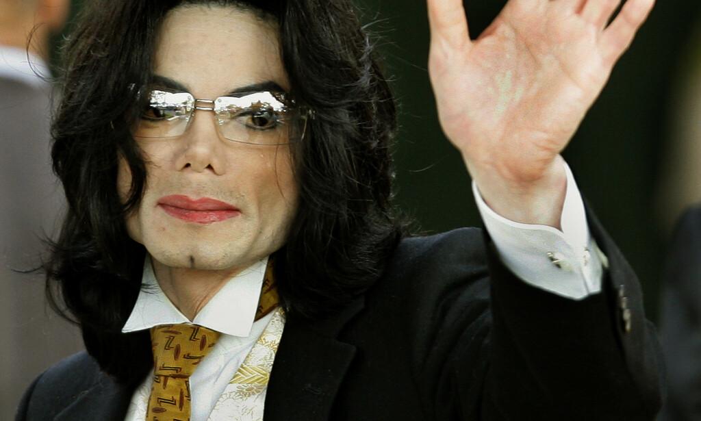 MICHAEL JACKSON: NRK sender dokumentaren «Leaving Neverland» om Michael Jackson søndag 10. mars. Foto: NTB Scanpix
