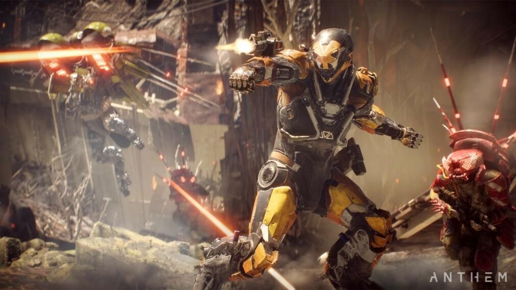 TRØBLETE START: Ikke bare er kritikerne lunkne – nå begynner PlayStation 4-eiere å advare andre mot å spille Anthem. Foto. Electronic Arts