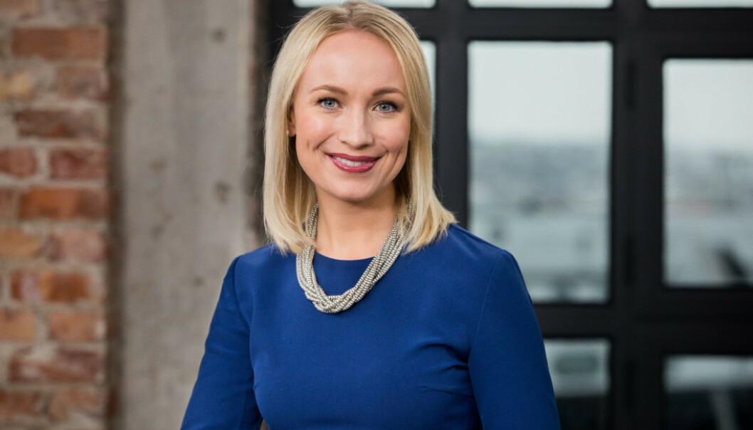 FÅTT BARN: TV 2-programleder Linn Wiik er blitt mamma for første gang til en liten jente. Foto: TV 2