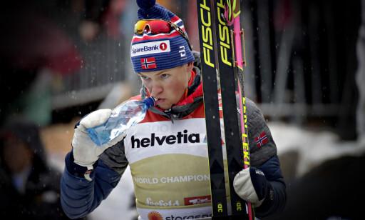 TILSTO: Johannes Høsflot Klæbo. Foto: Bjørn Langsem