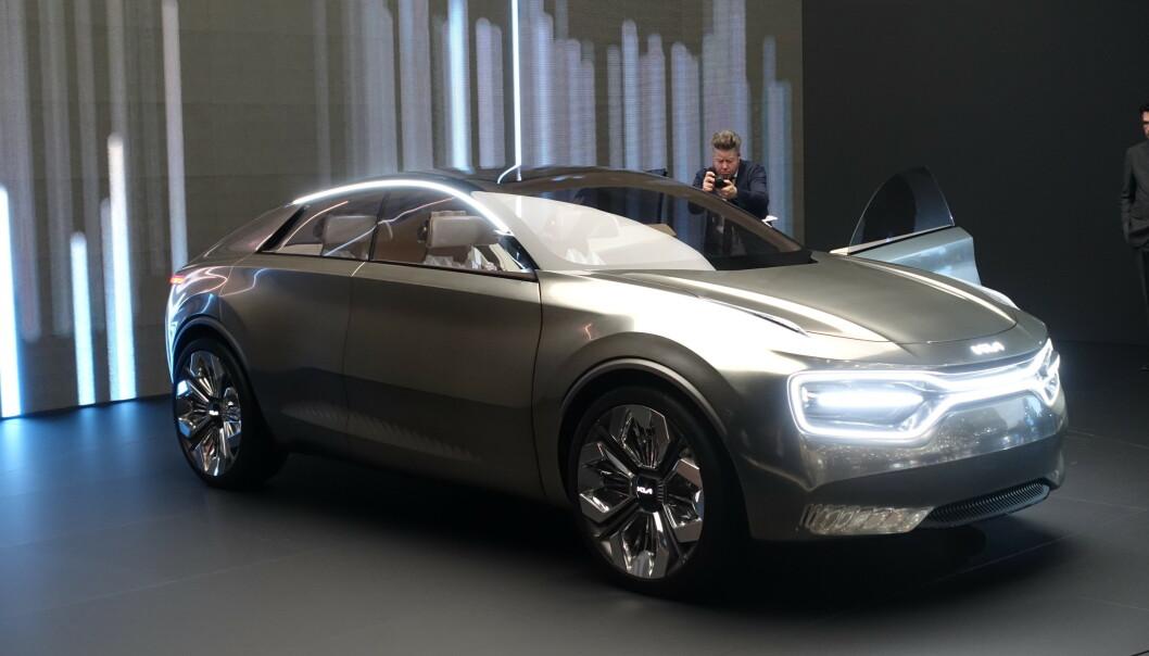 <strong>EMOSJONELL:</strong> Kia vil at denne bilen skal få eieren emosjonelt investert i bilen. Foto: Fred Magne Skillebæk