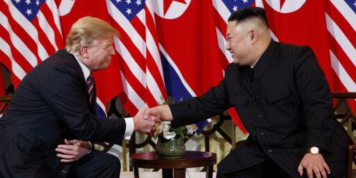 image: Kims kontante svar til Trump