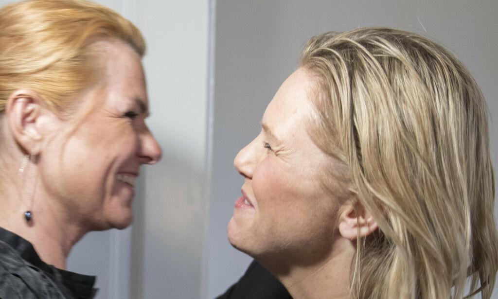 image: Her møter Listhaug sitt politiske idol: - En bauta