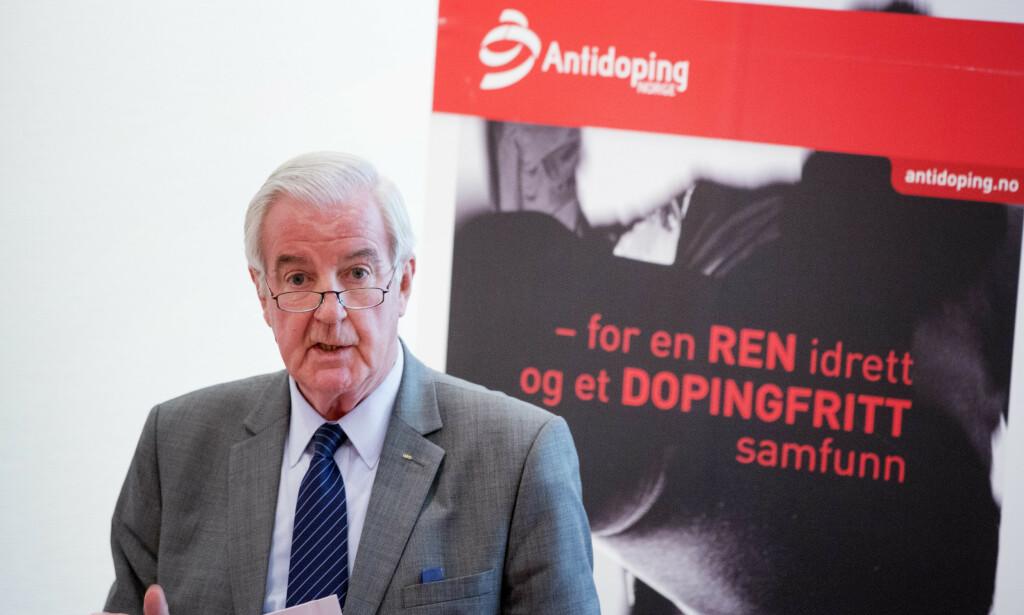 WADA-president: Sir Craig Reedie. Foto: NTB Scanpix