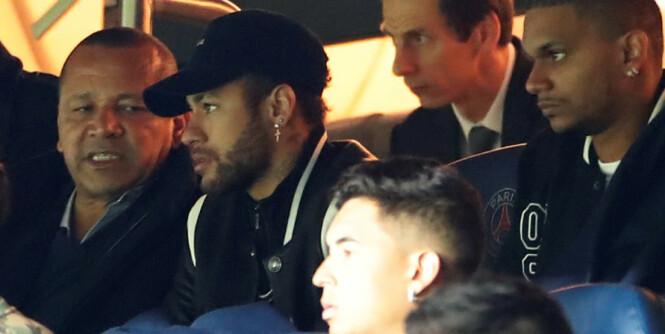 Neymar raste etter United-tap. Nå risikerer han straff