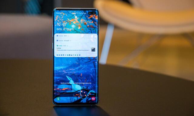 f414b60d7 TEST: Samsung Galaxy S10+ - Nå svinger det av Samsung igjen - DinSide