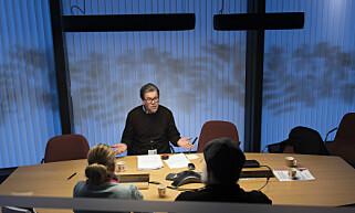 FANT LOVBRUDD: Seksjonsleder Øystein Breirem Jacobsen hos Fylkesmannen i Vestland avdekket lovbrudd ved 5 av 8 undersøkte institusjonsavdelinger i Hordaland. Foto: Lars Eivind Bones