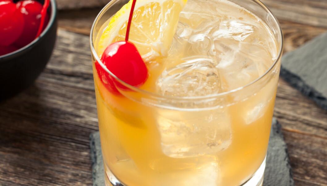 <strong>SUR OG DEILIG:</strong> Whisky Sour er trendy, hviskes det om både her og der. Foto: Shutterstock