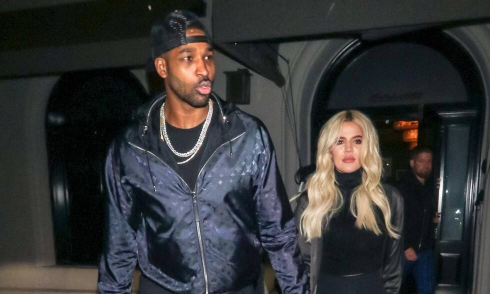 SLUTT: Khloé Kardashian dumpet nylig sin utro kjæreste, Tristan Thompson. Nå blir han linket til ny kvinne. Foto: NTB Scanpix